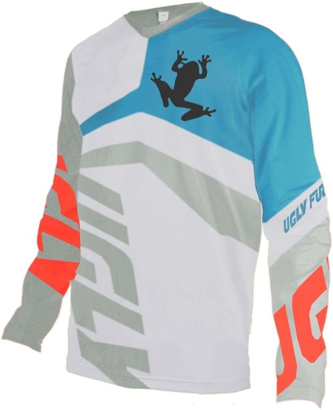 UGLY FROG MTB Manga Larga Downhill Jersey De Descenso Bicicleta De Primavera&otoño MontañalMaillots Deportes y Aire Libre