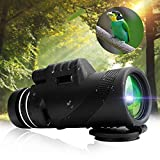 SRBI 40x60 Monocular Outdoor Camping Telescope HD Zoom Hiking Night Vision
