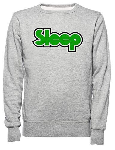 Rundi Sleep Band Merchandise Herren Damen Unisex Sweatshirt Jumper Grau Größe L - Women's Men's Unisex Sweatshirt Jumper Grey