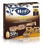 Barrette ai cereali Supreme Arachidi e Cioccolato Latte  Confezione 4 X 24 g...