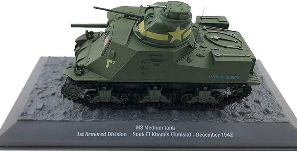 N-Y 1 43 Max 77% OFF Scale M3 Medium Tank 1St Armored Division Alloy Sales for sale USA