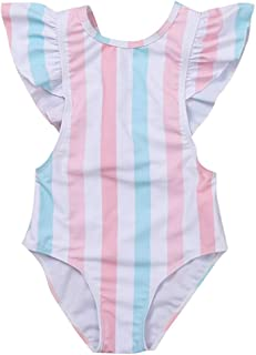 Beinou Terry Swim Cover Up per ragazza Rainbow White Unicron Accappatoio Beach Dress