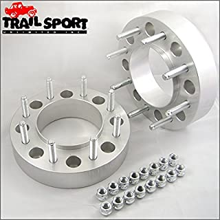 trailsport4x4 2 inch Hubcentric Wheel Spacer Kit with Studs for Ford F350 Dually - 8x200 Hub