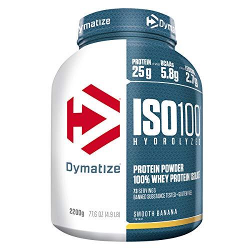 Dymatize ISO 100 Smooth Banana 2,2kg - Whey Protein Hydrolysat + Isolat Powder