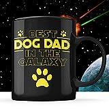 N\A El Mejor Perro papá en la Taza de la Galaxia día del Padre, papá Perro, Perro Gracioso Star Wars, Esposa, Hijo, Hija,...