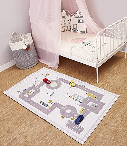 Alfombra De Juego, Alfombra De Juegos para Niños, Alfombra para Bebé Y Habitación De Los Niños (80 * 130 Cm)
