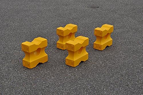 Nedlandic Cavaletti Block klein, Farbe weiß (Gelb)