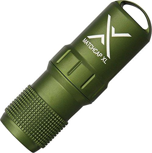 Exotac MATCHCAP XL Waterproof Match Case, Olive Drab