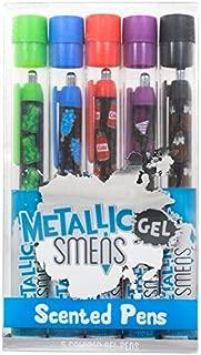 Scentco Metallic Gel Smens 5-pack of Scented Pens