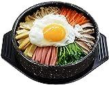 Cazuela de cerámica de Primera Calidad, Cuenco Coreano de Piedra para cocinar, Olla Caliente para bibimbap, Cuenco de Sopa sin Tapa, cazuela de Restaurante en casa