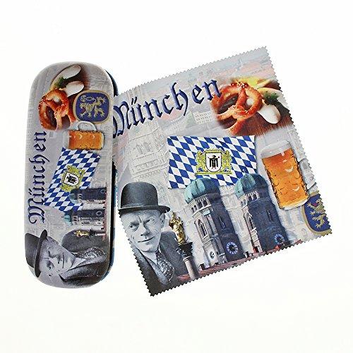Funda para gafas de Múnich con terciopelo de microfibra.