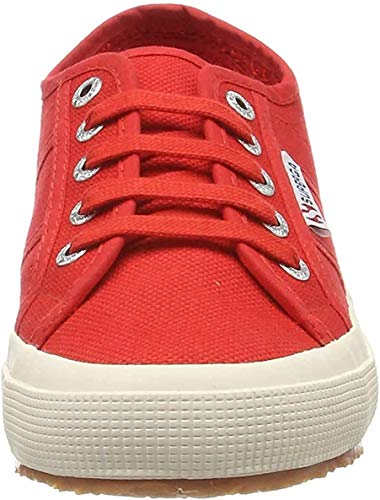 Superga 2750 COTU CLASSIC, Sneaker Unisex - Adulto, Rosso (Red 975), 39 EU