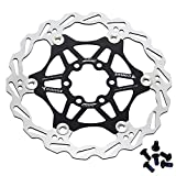 Corki 160mm 180mm Bicycle Disc Brake Rotor with 6 Bolts Fit for Road Bike,Mountain Bike,MTB,BMX