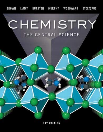 Compare Textbook Prices for Chemistry: The Central Science MasteringChemistry 14 Edition ISBN 9780134414232 by Brown, Theodore,LeMay, H.,Bursten, Bruce,Murphy, Catherine,Woodward, Patrick,Stoltzfus, Matthew