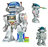 NMIT I-ROBOT RC Remote Controlled Toy Robot, Shoots Frisbees, Dances, Talks, Walks,