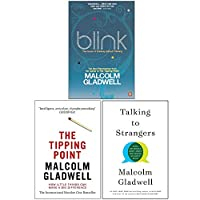 Malcolm Gladwell 3 Books Collection Set (Blink, The Tipping Point, [Hardcover] Talking to Strangers) 9124089826 Book Cover