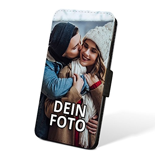PhotoFancy ® – iPhone® 6/6s Handyhülle mit eigenem Foto Bedrucken – Smartphone Case als personalisierte Schutzhülle (Flipcase)