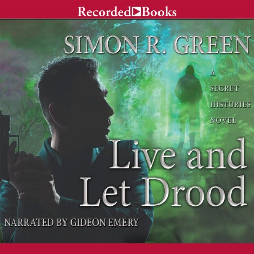Live and Let Drood audiobook cover art