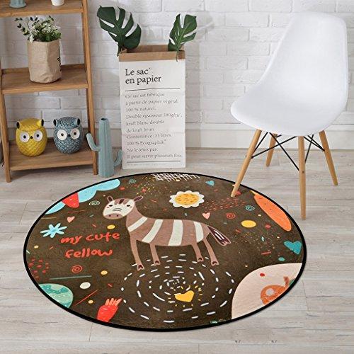 Good thing tapis Tapis, tapis, tapis de chambre à coucher de salon de lits d'enfants, tapis de plancher de chaises d'ordinateur, balcon à la maison accrochant le tapis de panier ( taille : Diameter 100CM )
