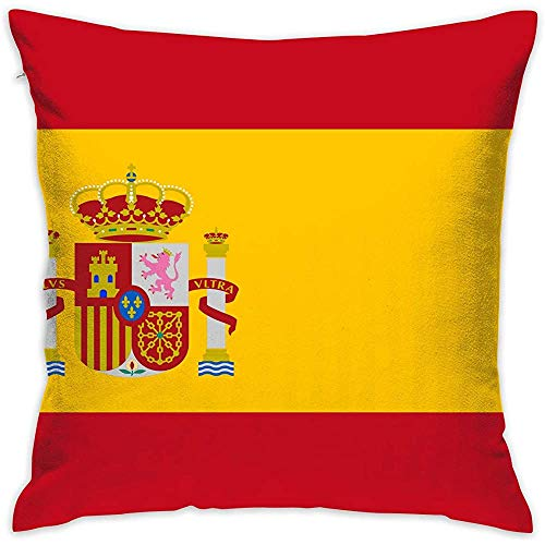 July decoratieve kussensloop Spaanse vlag kussenslopen kussenslopen voor bank slaapkamer auto stoel
