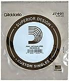 D'Addario J7401, cuerda individual de acero para mandolina, primera cuerda.011