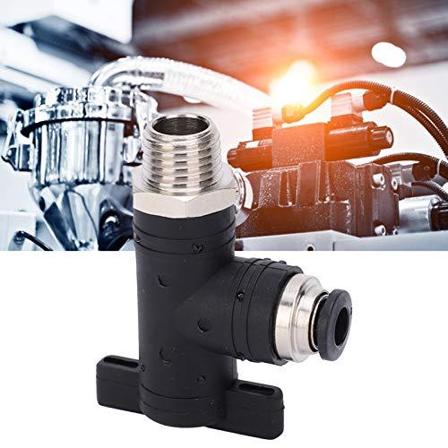 Conector neumático PT1 / 4in, interruptor neumático Enchufe rápido Atornillado rápido para exteriores para interiores