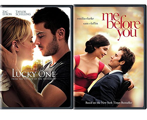 Lucky Romance Movies DVD Me Before You & The Lucky One Double Love Bundle Set