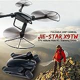 Kedelak JIE-Star X9TW Pliable 480P Caméra WiFi FPV Drone Altitude Hold RC Training Quadcopter