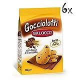 6x Balocco Gocciolotti kekse mit Schokolade Tropfen 700g biscuits cookies