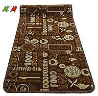 casa tessile tappeto cucina passatoia antiscivolo largo 50 cm. bio - 280 cm.