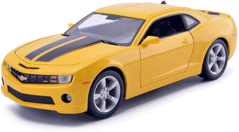 exclusivo KaKaDz Wei KKD Escala Modelo Simulación Simulación Simulación Vehículo Modelo Amarillo Coche Chevrolet Hornet Kemero Modelo 1 18 Modelo de fundición a presión proporcional Colección Modelo  ventas calientes