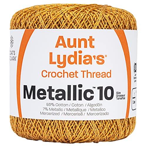 Hilo Metalico  marca Coats Crochet