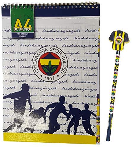 Hakan Canta Fenerbahce Istanbul - schoolset - ringband DIN A4 - potlood