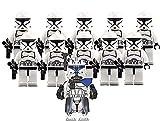 Captain Rex and Clone Trooper Combat Team Minifigures - 11/pcs Army Set : 1...