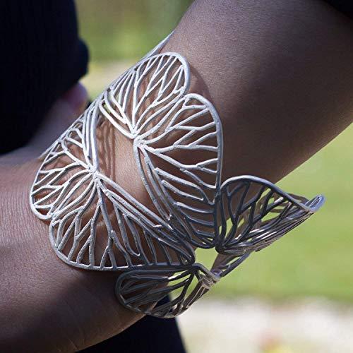 Silberarmreif Schmetterlinge handmade Armreif Silber 925 Armband Brautschmuck