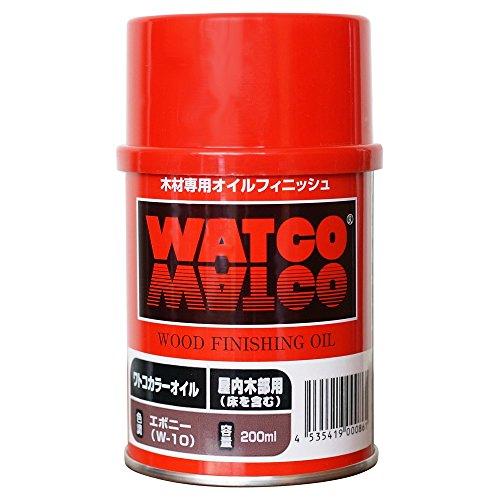 ワトコオイル エボニー W-10 200ML