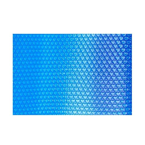 Jonist Solar Pool Cover for 3ft/5ft/6ft/10ft/13ft/16ft Wide, Blue Rectangular Heating Swimming Heavy Duty Tarpaulin (Size : 1.5m×2m(5ft×6ft))
