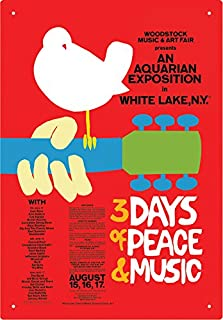 original woodstock poster