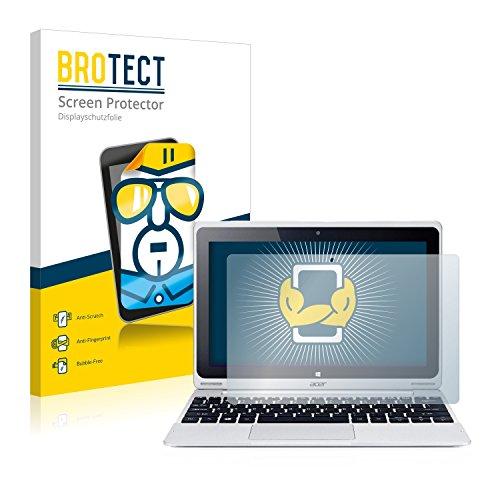 BROTECT Schutzfolie kompatibel mit Acer Aspire Switch 10 SW5-012 (2 Stück) klare Bildschirmschutz-Folie