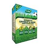 Westland Schluss mit Unkraut & Moos, Vitalisierender Rasendünger für einen dichten Rasen, Ideal für Mähroboter, 5,25 kg, 150m²