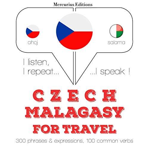 Czech - Malagasy. For travel cover art