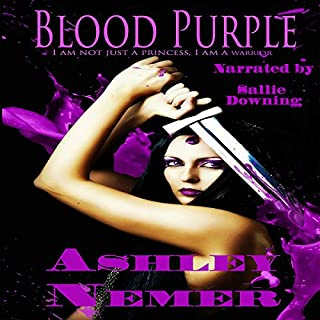 Blood Purple audiobook cover art