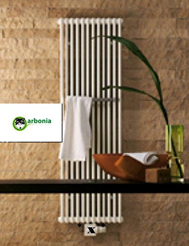 Arbonia Röhrenheizkörper Modell 2120 BH 1200 mm BL 450mm, weiss