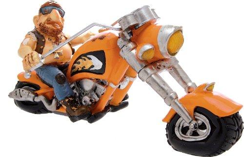 CERTRE Motard avec Moto Orange cm.Expédition 32 h.15 (Prix Fixe Euro 11,90 – TU Peux Ajouter Autres Articles dans Le même Ordre jusqu'à Un Poids Total de kg.40)