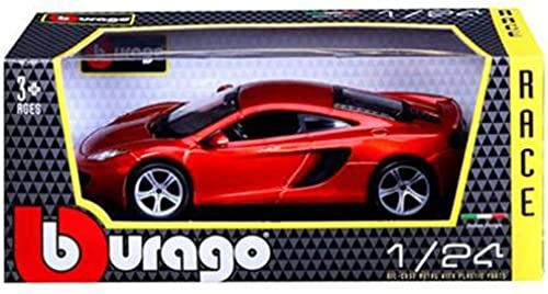 Mclaren MP4-12C Metallic Orange 1 24 by Bburago 21074 by Bburago