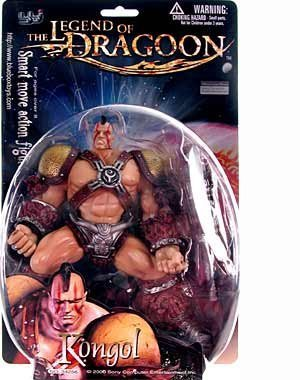Legend of Dragoon > Kongol Action Figure by Toy Rocket