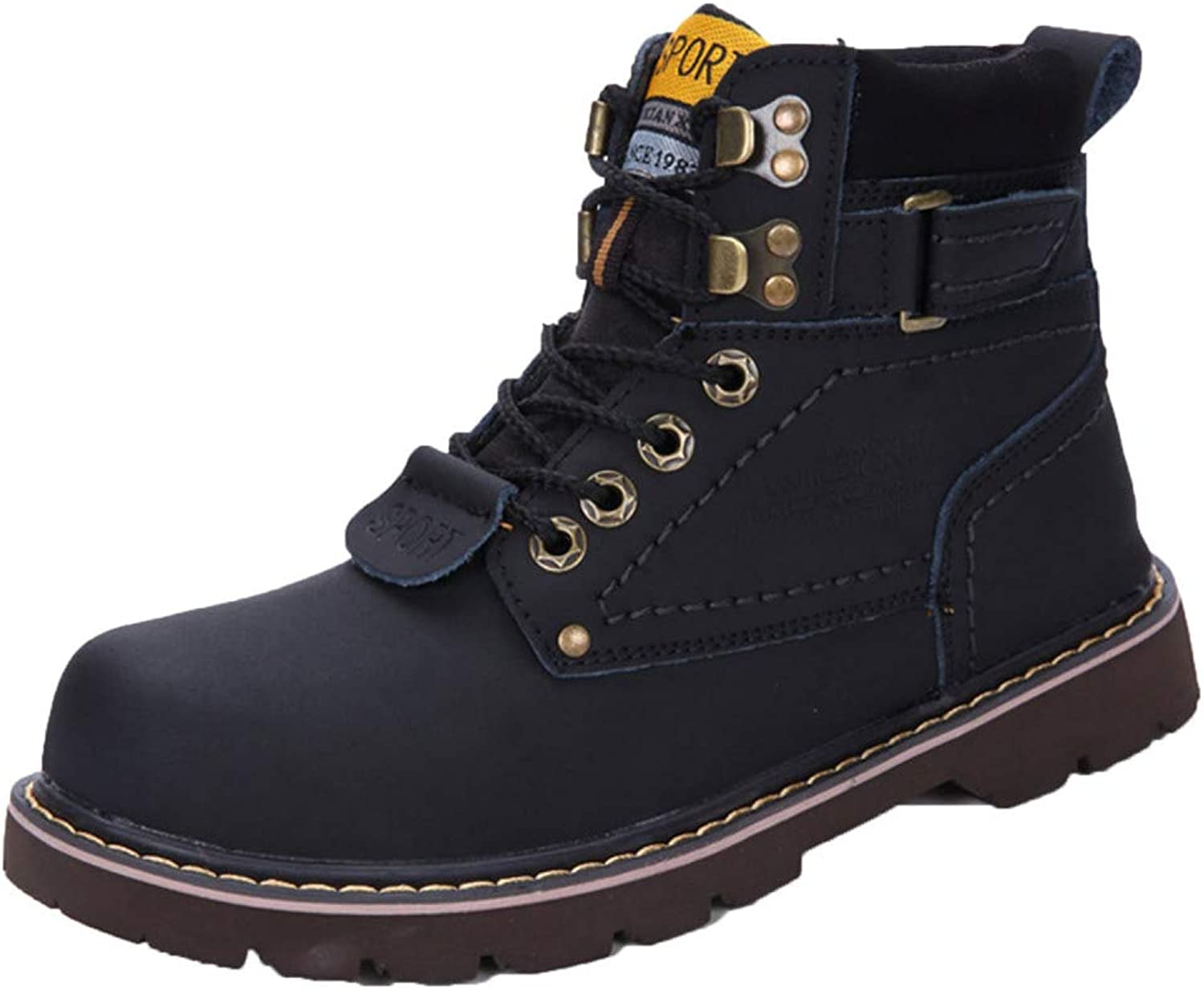Men's Boots Safety Boots Dewalt Lightweight Waterproof Trainers Martin High Help Plus Velvet