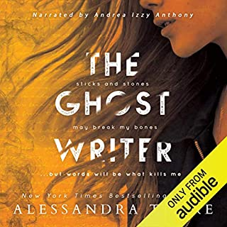 The Ghostwriter                   By:                                                                                                                                 Alessandra Torre                               Narrated by:                                                                                                                                 Andrea Izzy Anthony                      Length: 9 hrs and 26 mins     441 ratings     Overall 4.3