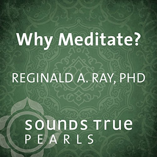 Why Meditate?  audiobook cover art
