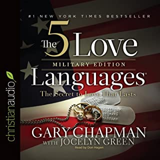 The 5 Love Languages Military Edition audiobook cover art